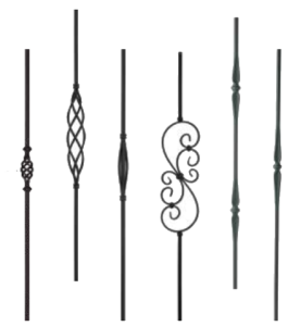 Wrought-iron-spindles